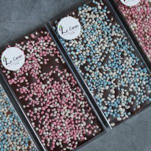 Chocoladereep met muisjes
